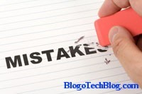 Mistakes While Blogging