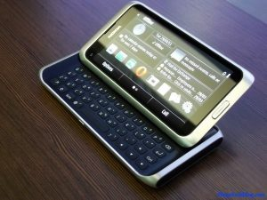 Nokia E7 Display