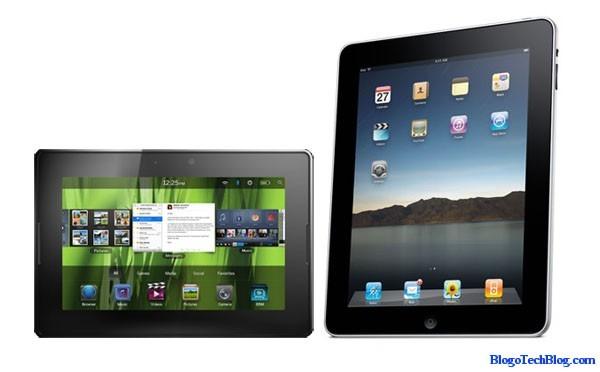BlackBerry PlayBook Vs Apple iPad2