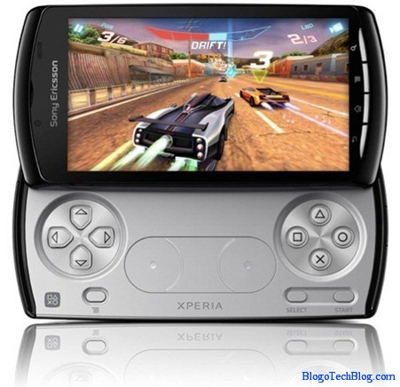 Sony Ericsson Xperia Play gamepad