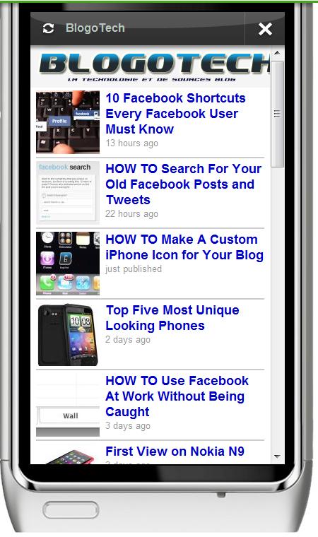 BlogoTech- Ovi app