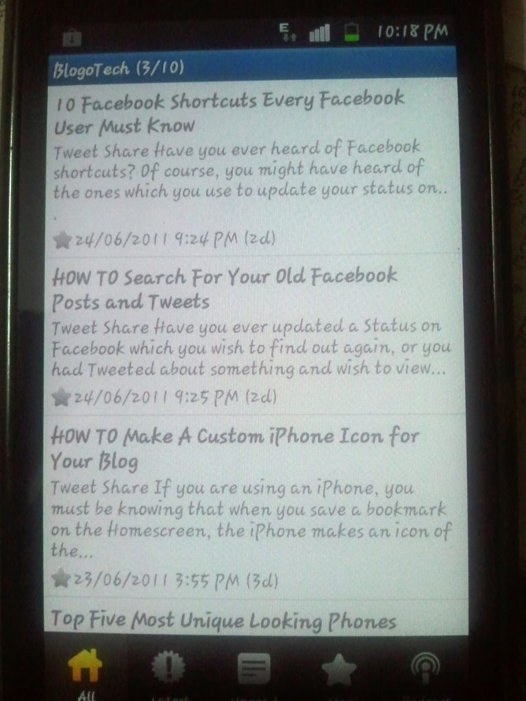 BlogoTech for Android