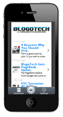BlogoTech for iOS