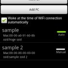 PC Auto Waker Android App