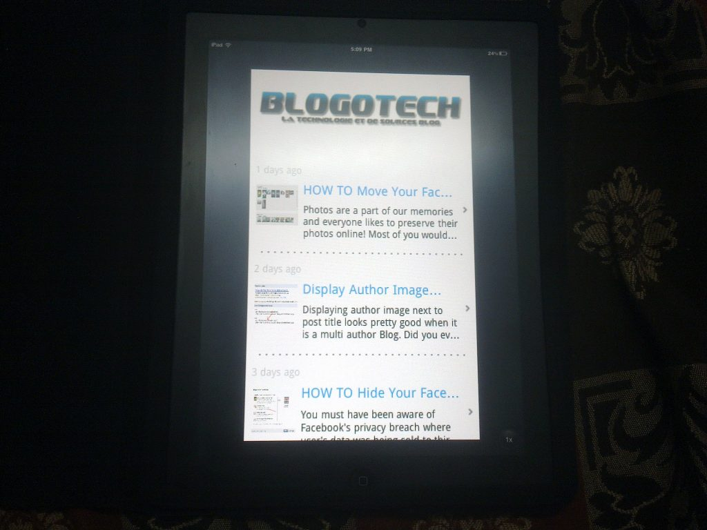 Apple iPad 2 BlogoTech