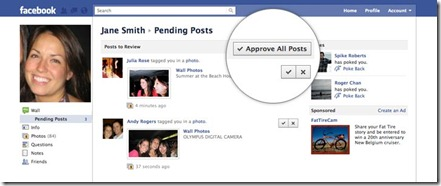Approve Tags on Facebook Photos