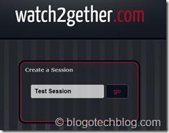 Create youtube session