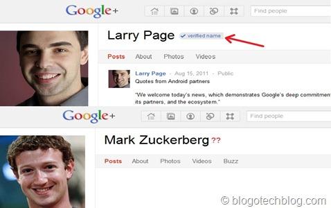 Larry Page-Mark Zuckerberg Google+