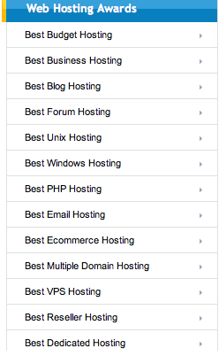 WebHosting-awards