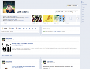 Feature a post on Facebook timeline