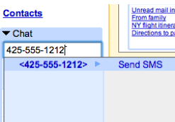 send SMS from Gmail