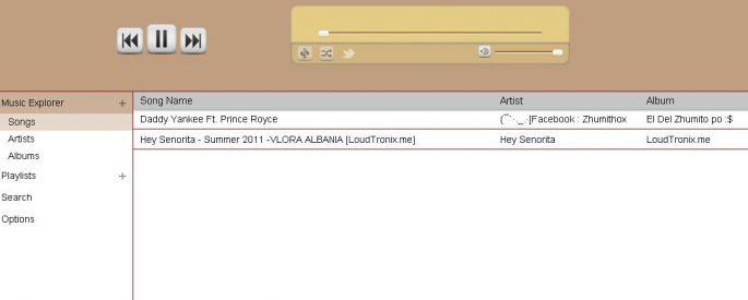 achshar music player chrome