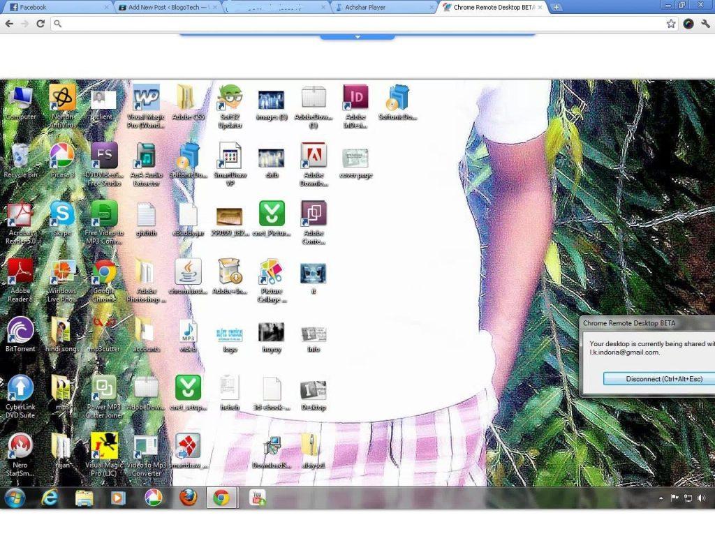 access remote desktop on chrome