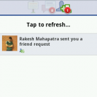 Friend Request Notification on Android