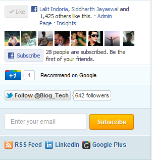 Add Facebook Subscribe Button to Websites