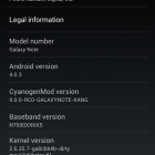Install Ice Cream Sandwich on Samsung Galaxy Note