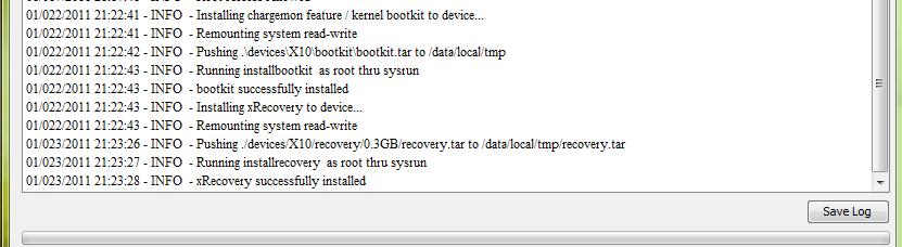 Clocworkmod recovery on Xperia X8