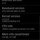 Cyanogenmod on LG Optimus One P500