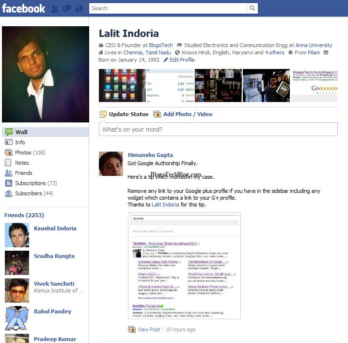 Get back old facebook profile