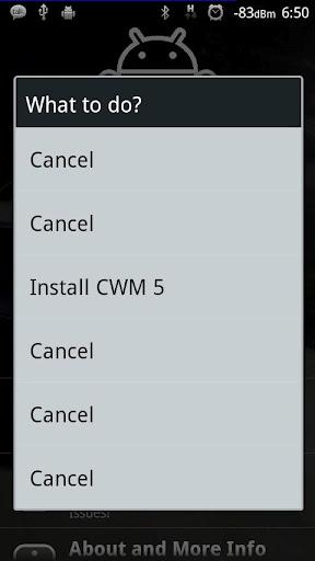 Install CWM on Sony Ericsson Xperia Phones