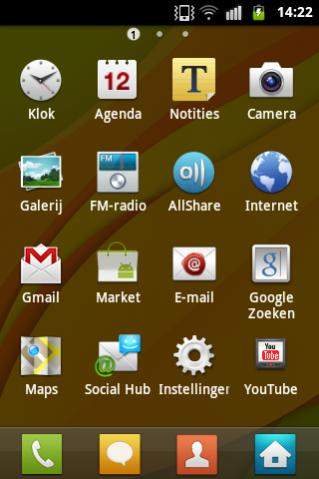 SGS2 ROM on Samsung Galaxy Ace