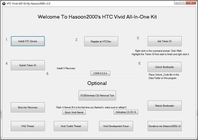 Root HTC Vivid