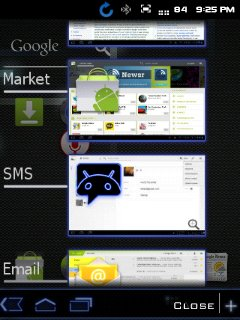 Honeycomb On LG Optimus Me P350