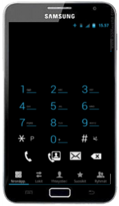 Galaxy Note ICS ROM