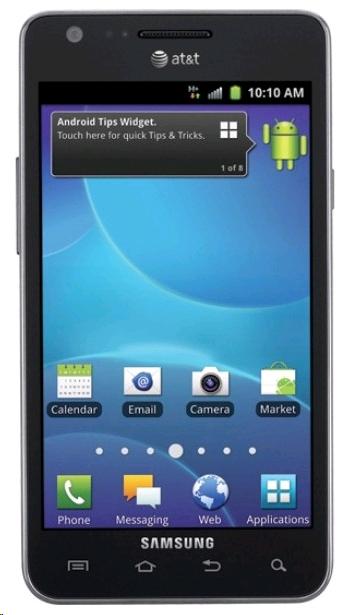 AT&T Samsung Galaxy S2 i777 official ICS