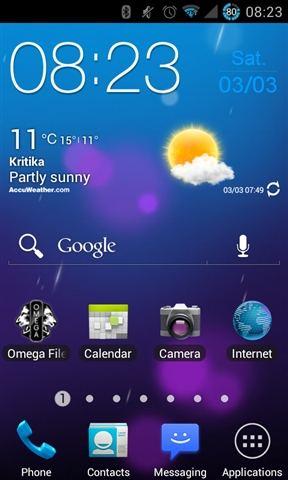 Samsung Galaxy S2 XWLP4 ICS