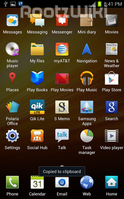 Ice Cream Sandwich For AT&T Galaxy Note