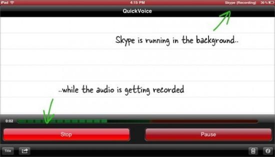 Skype calls record