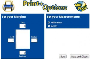 Print Plus options