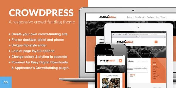 Crowdfunding WordPress Themes